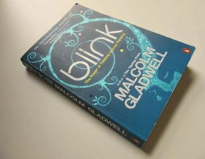 My well thumbed copy of Blink, by Malcolm Gladwell
