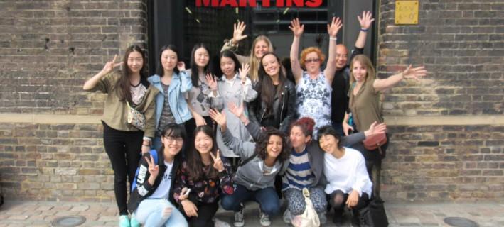 The summer's Central Saint Martins Entrepreneurship for Creatives Students